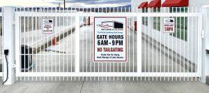 Lake Havasu storage gate
